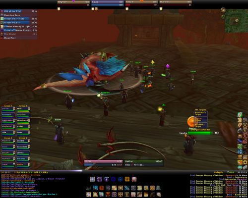 Click to view full size image  ==============  First CLOWN Hakkar kill First take down of Hakkar by CLOWN 08/11/06 Keywords: Hakkar First Kill WoW Warcraft CLOWN